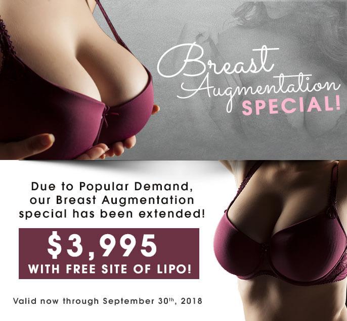 Breast Augmentation Special!